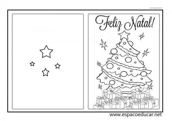 Lindos Modelos De Cartão De Natal Para Você Imprimir E Presentear