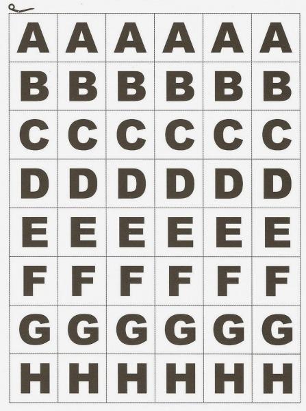 Alfabeto Movel Para Imprimir