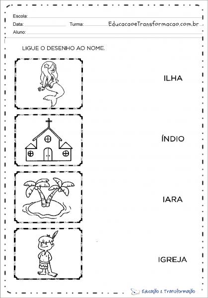 Atividades Com A Letra I Para Alfabetização