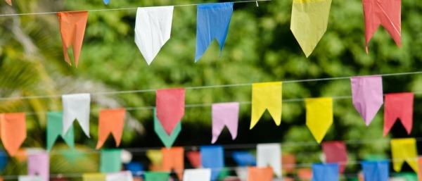 Baixe 3 Moldes De Bandeirinhas De Festa Junina Para O Seu Arraial