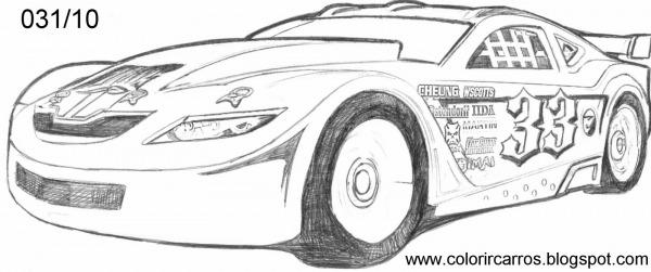 Desenho Para Pintar Hot Wheels – Pampekids Net