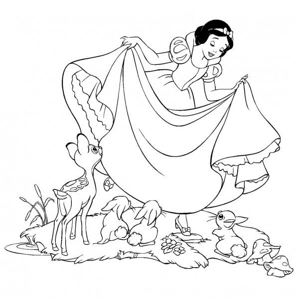 Desenhos Das Princesas Para Colorir