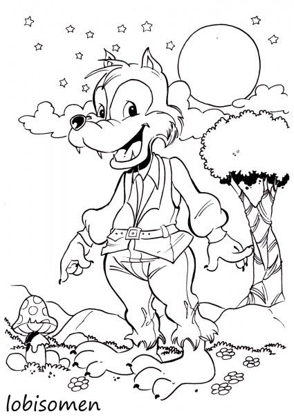 Bloguinho De Atividades  Desenhos Dos Personagens Do Folclore