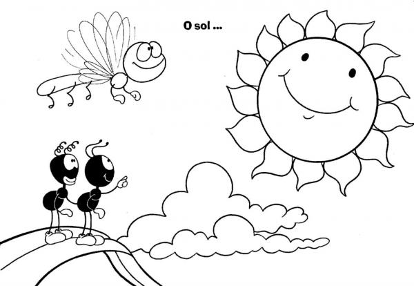 Desenhos Infantil Para Colorir Dos Smilinguido