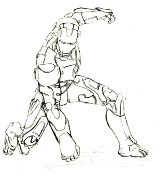 Desenhos Para Colorir AdorÁvel Homem De Ferro