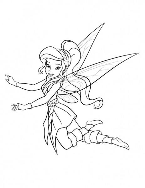Desenhos Para Colorir Da Tinker Bell