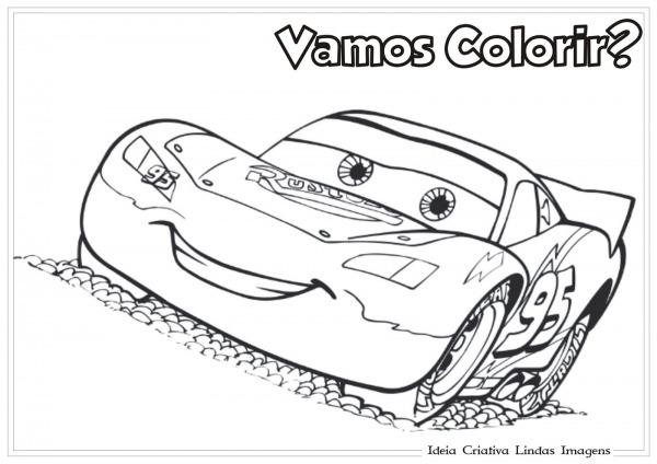 Desenhos Para Colorir Mcqueen