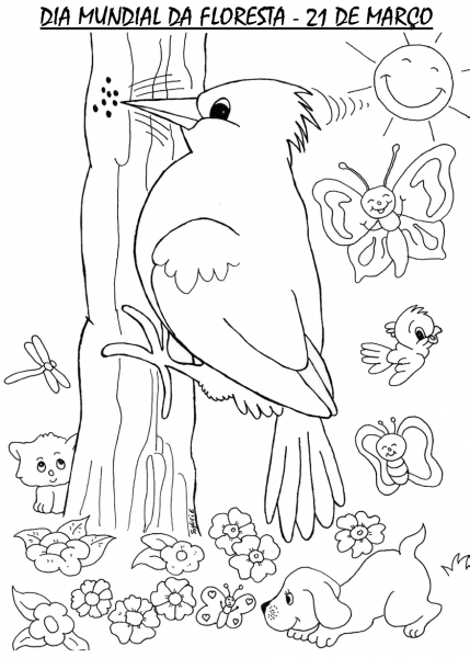 Desenhos De Paisagens Para Imprimir