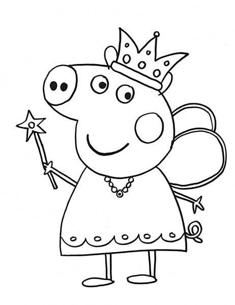 Desenhos Para Colorir Peppa Pig  45 Opções Para Imprimir Grátis