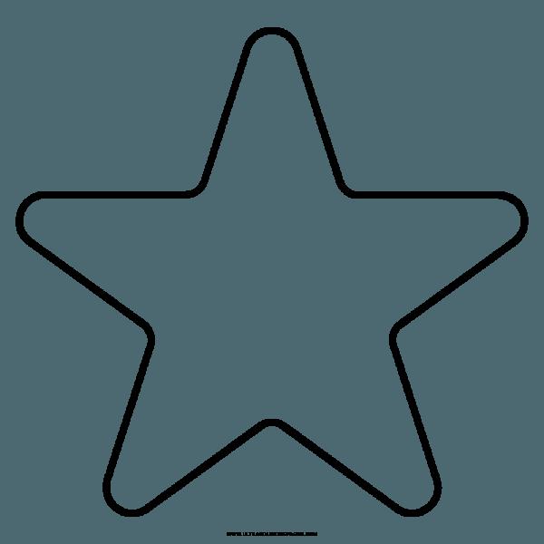 Estrela Desenho Para Colorir – Coloring City