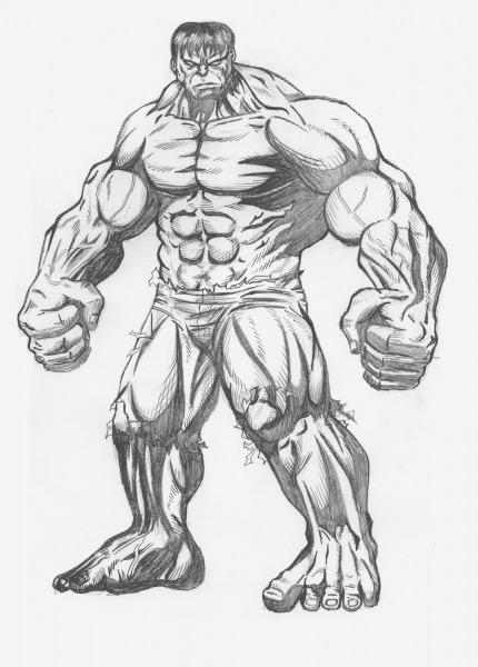 Universo Hq  Como Desenhar O Hulk
