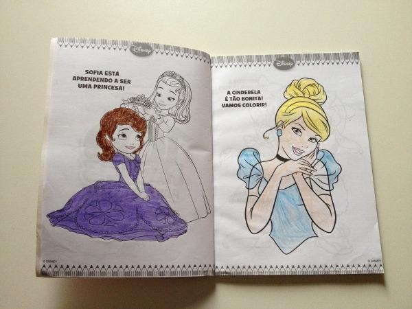 Livro De Colorir Disney 100 Páginas Para Colorir