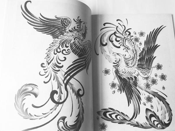 Livro Desenhos Fênix Para Tattoo