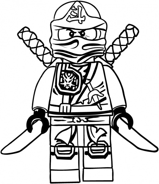 Desenho De Lloyd Dos Ninjago Para Colorir