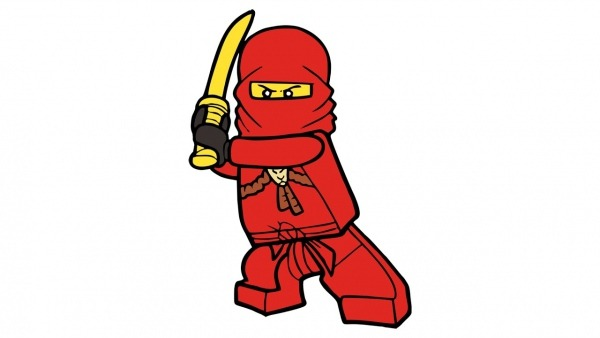 Como Desenhar O Kai De Lego Ninjago (personagem)