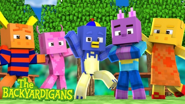 Minecraft  Backyardigans