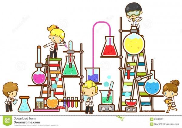 O Estudante Das Crianças Dos Desenhos Animados Está Estudando A