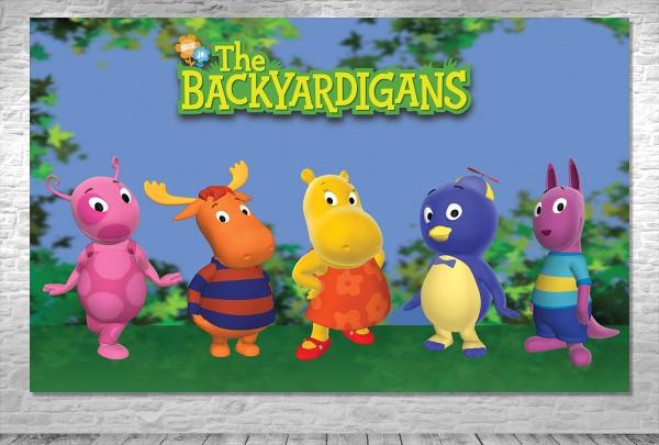 Decoração The Backyardigans