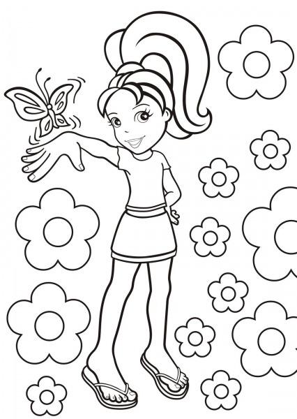 Desenhos Para Colorir Polly