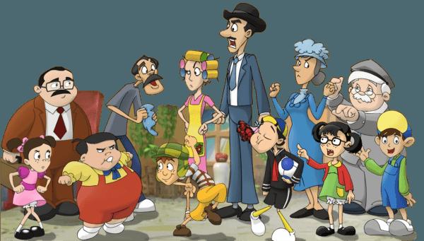 Turma Do Chaves Desenho Animado Png 1 » Png Image