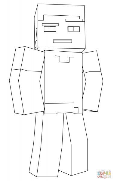 Desenhos Para Colorir Do Minecraft