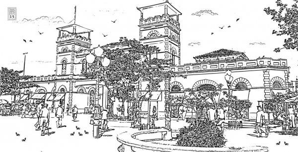 Livro Traz 118 Desenhos Para Colorir De Pontos Históricos E