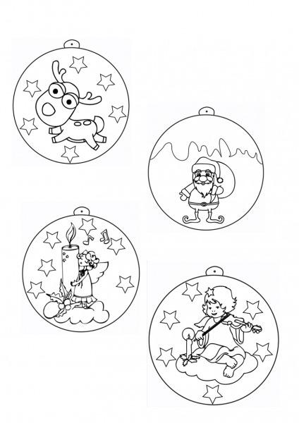 Enfeites De Natal De Papel