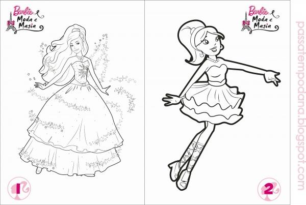Desenhos Para Colorir De Moda