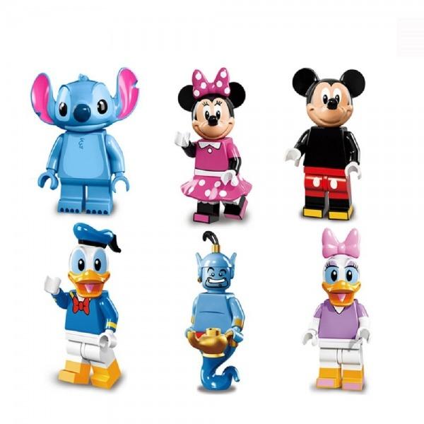Bonecos Mickey Minnie Donald Margarida Stitch Disney Desenho