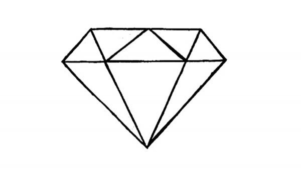 Como Desenhar Diamantes Simples – Pampekids Net