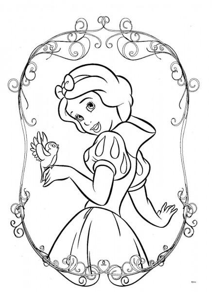 Dibujos Para Colorear, Pintar , Imprimir    Princesas