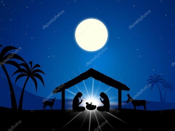Manger De Jesus Mostra O Nascimento De Cristo E O Cristianismo