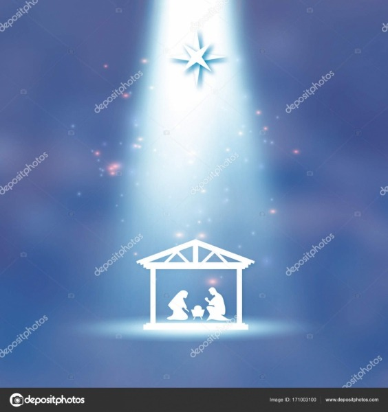 Nascimento De Cristo  Menino Jesus Na Manjedoura  Sagrada Família