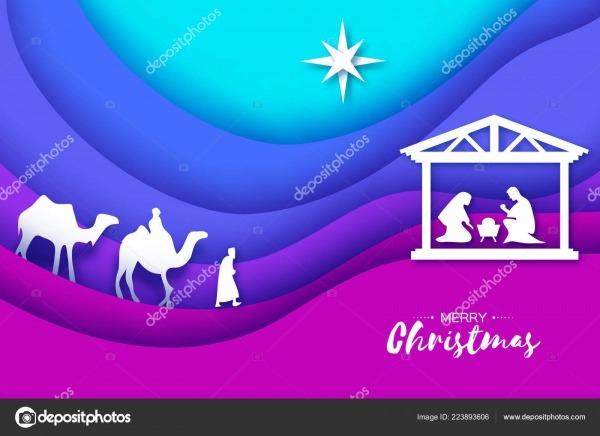 Nascimento Cristo Menino Jesus Manjedoura Sagrada Família Reis
