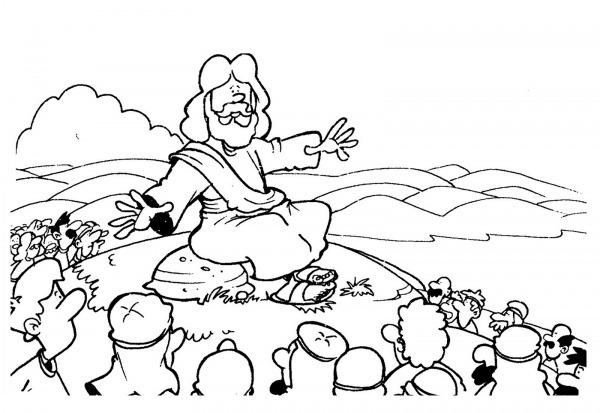 Desenhos Bíblicos Para Colorir De Jesus