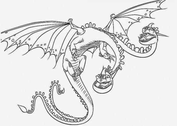 Desenhos Para Colorir E Imprimir Como Treinar O Seu Dragão 2