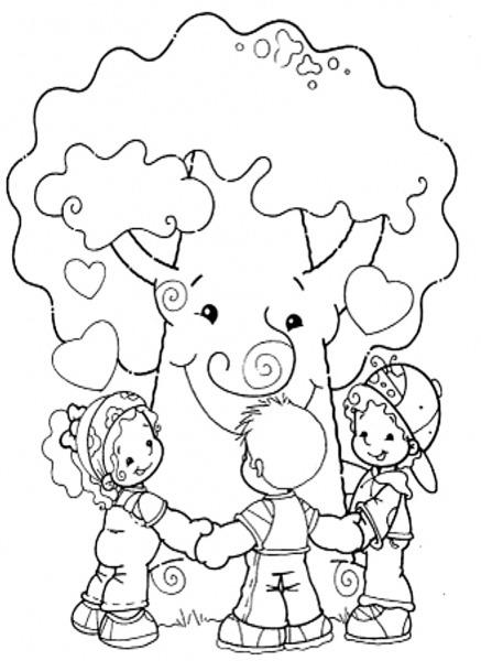 Desenhos Para Colorir Meio Ambiente – Pampekids Net