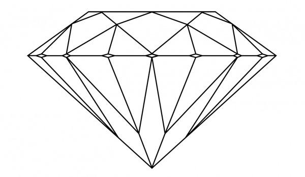 Diamante Para Colorir