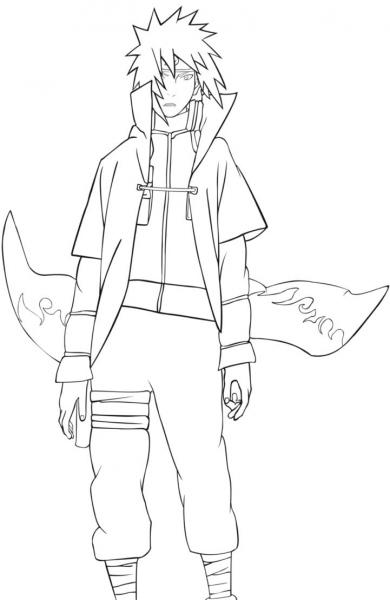Naruto Shippuden Para Pintar