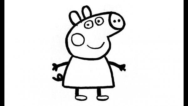 Como Desenhar A Peppa Pig (personagem)