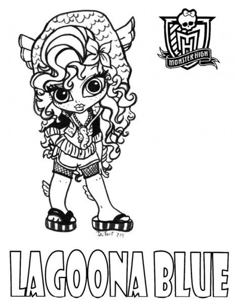 Monster High Lovers Desenhos Para Colorir(baby) – Pampekids Net