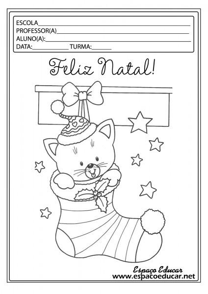 Lindos Desenhos De Natal Para Colorir, Pintar, Imprimir! Servem