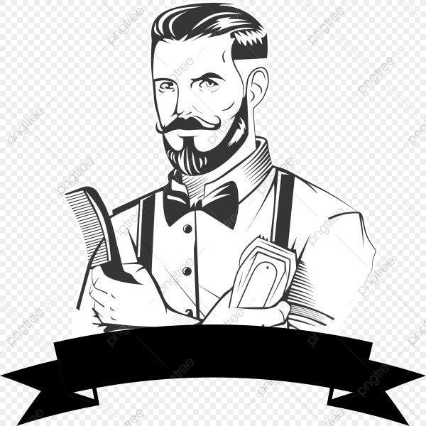 Desenho Retratando O Barbeiro, O Barbeiro, Desenhos Animados Do
