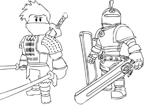 Roblox Desenhos Para Colorir Imprimir E Pintar Do Game – Desenhos