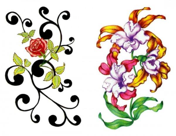 Desenhos De Flores Lindas