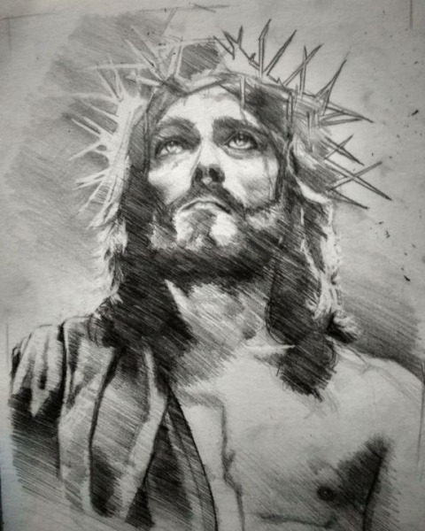 Jesuscristo Desenho Por João Gualberto Neto