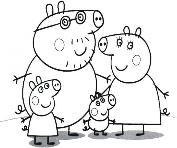 Desenhos Do Peppa Pig Para Colorir Pintar Imprimir, Desenh…