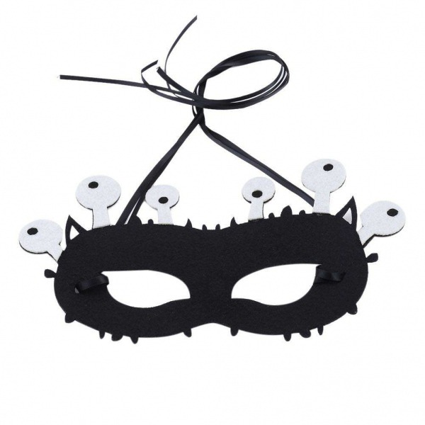 Monstro Bonito Dos Desenhos Animados De Halloween Máscara Máscara