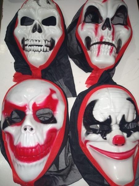 18 Mascaras Halloween Com Desenho Sortidas
