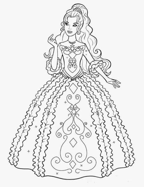 Barbie Desenhos Lindos Para Pintar, Colorir, Imprimir! – Free